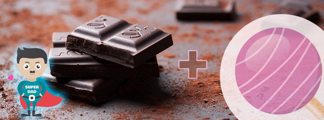 Idée recette pour papas divorcés – Les sucettes au chocolat