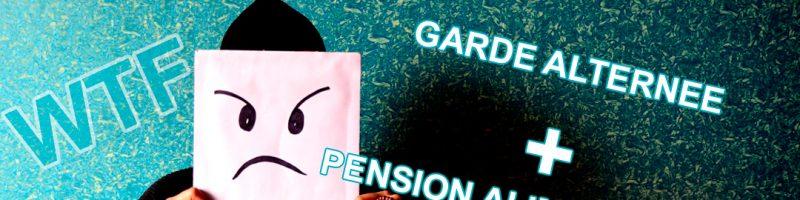Garde alternée et pension alimentaire