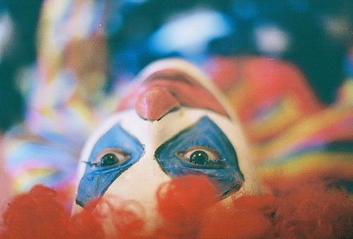 sad clown photo