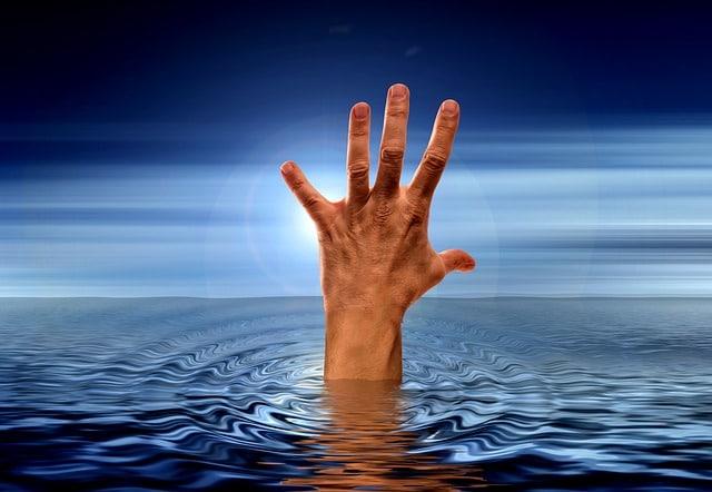 drowning photo